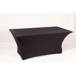 Чехол стрейчевый черный на стол