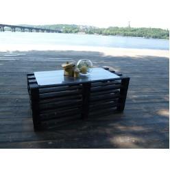 Эко стол (черный)