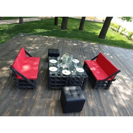 Комплект Loft мебели (6 человек)