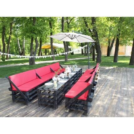 Комплект Loft мебели + зонт (12 человек)