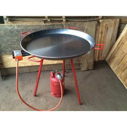 Горелка со сковородой для паельи