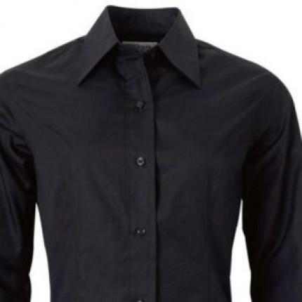 Рубашка официанта черная в аренду