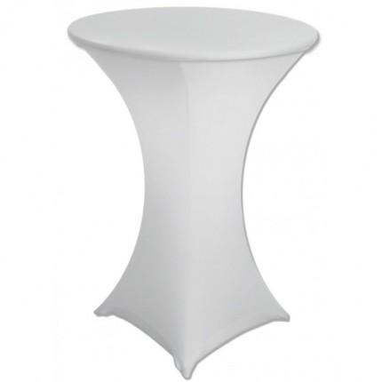Чехол на барный стол белый в аренду