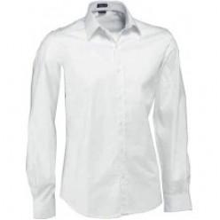 Рубашка официанта белая